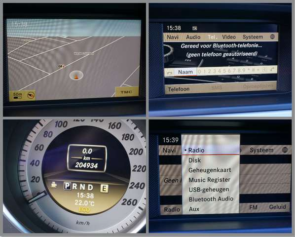 Mercedes C 180 CDIBE Avantgarde Automaat/Navi/Airco/H.leder/Xenon