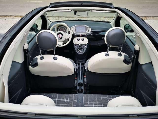 Fiat 500C 1.2i Cabriolet Garantie 12 M.