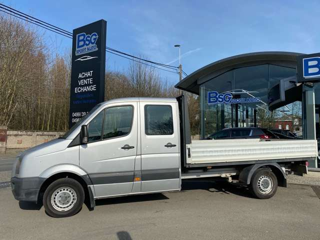 Volkswagen Crafter double cabine clim