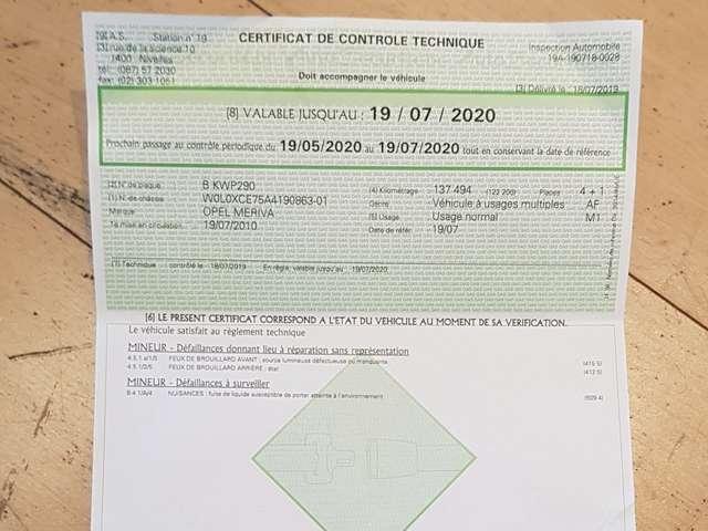 Opel Meriva 1.7 CDTi Cosmo / GPS / AIRCO / BLUETOOTH / USB