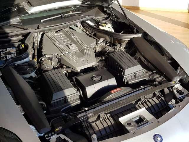 Mercedes SLS AMG 6.2i V8 / 571 CV / ARGENT IRIDIUM / CUIR ROUGE