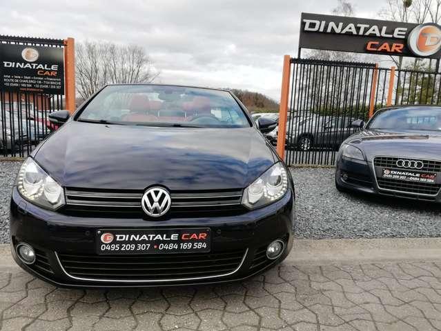 Volkswagen Golf Cabriolet 1.6 CR TDi FullOpts - LED/Xenon - Cuir - GPS - 3/15