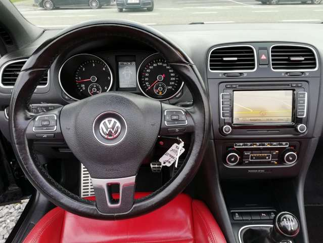 Volkswagen Golf Cabriolet 1.6 CR TDi FullOpts - LED/Xenon - Cuir - GPS - 7/15