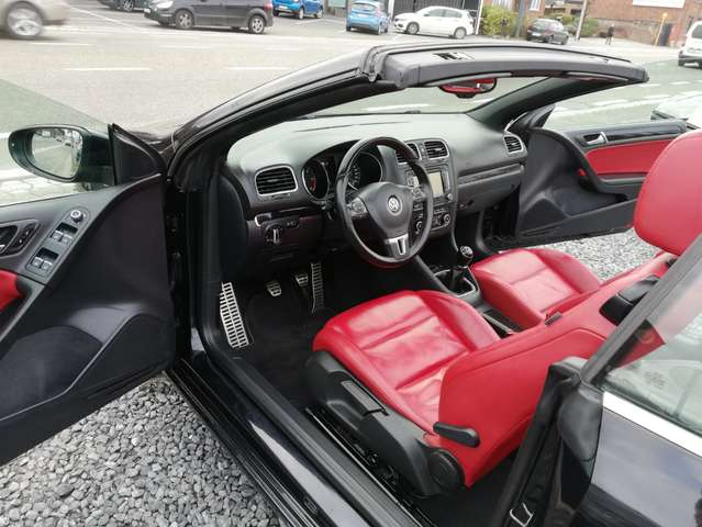 Volkswagen Golf Cabriolet 1.6 CR TDi FullOpts - LED/Xenon - Cuir - GPS - 8/15