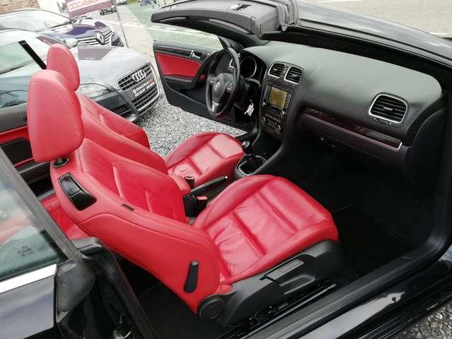 Volkswagen Golf Cabriolet 1.6 CR TDi FullOpts - LED/Xenon - Cuir - GPS - 9/15