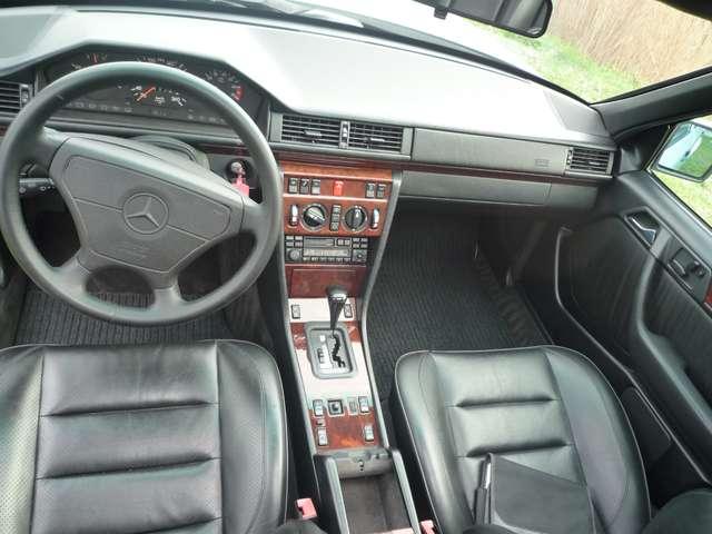 Mercedes 500 E - ZWART LEDER - AIRCO - SCHUIFDAK - OLDTIMER 7/12