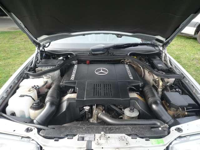 Mercedes 500 E - ZWART LEDER - AIRCO - SCHUIFDAK - OLDTIMER 9/12