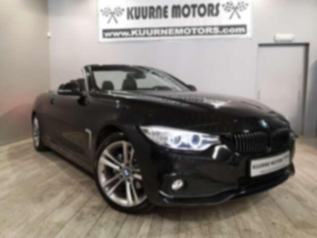 """BMW Série 4 dA Cabrio Alu18\""""/Leder/Xenon/Gps/Pdc *1j garantie*"""