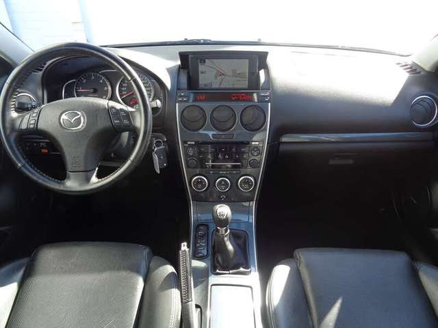 Mazda 6 2.0 CDVi Navi/Leder incl 2 JAAR garantie! 5/15