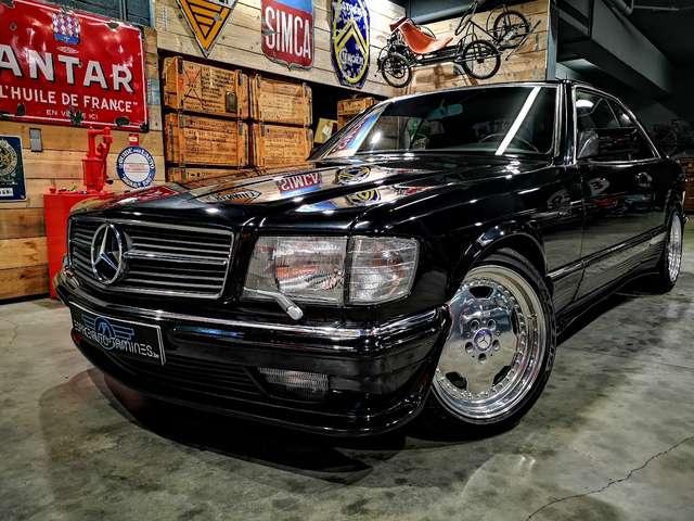 Mercedes 500 SEC *** Body kit Lorinser + jantes AMG *** 1/14