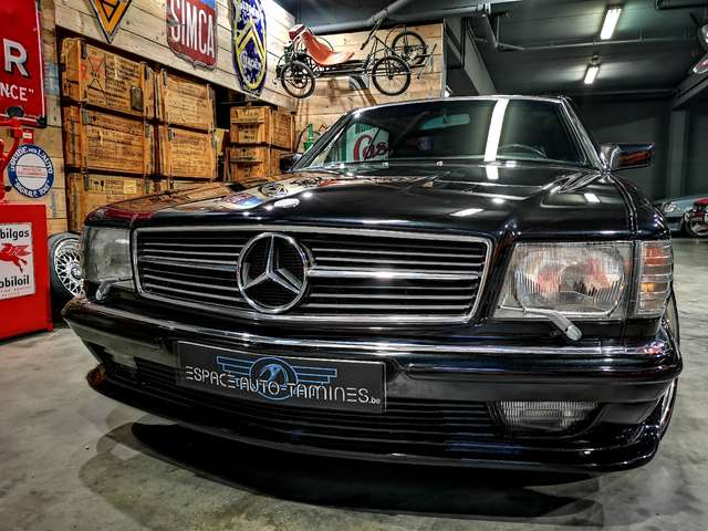 Mercedes 500 SEC *** Body kit Lorinser + jantes AMG *** 2/14