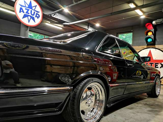 Mercedes 500 SEC *** Body kit Lorinser + jantes AMG *** 7/14