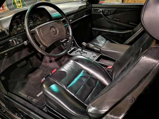 Mercedes 500 SEC *** Body kit Lorinser + jantes AMG *** 9/14