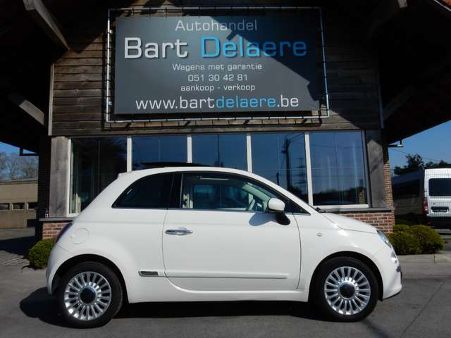 Fiat 500 1.2i Lounge Euro5 Panoramadak 1/12