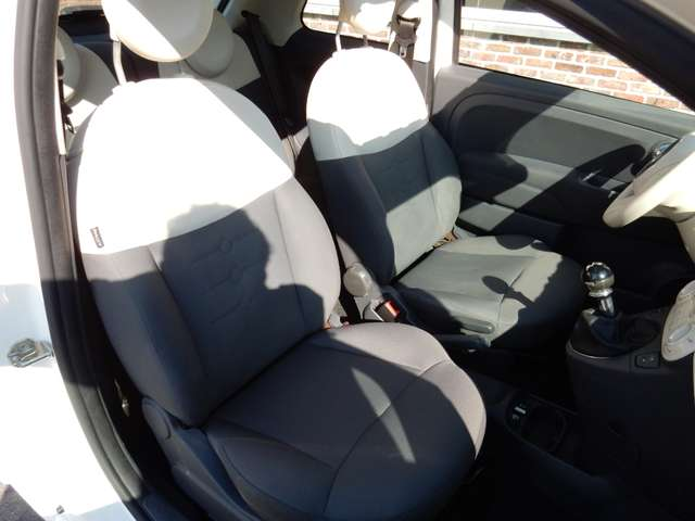 Fiat 500 1.2i Lounge Euro5 Panoramadak 9/12