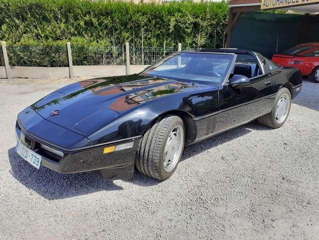 Chevrolet Corvette C4 TARGA 5.7i V8 Handgeschakeld 84.000km OLDTIMER 1/15