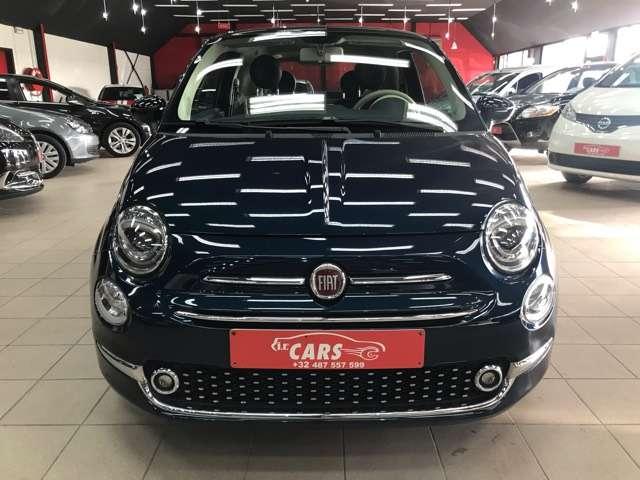 Fiat 500 1.2i Lounge**10000KM'S**LEDER**PANO-DAK**NAVIGATIE 2/15