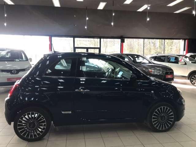 Fiat 500 1.2i Lounge**10000KM'S**LEDER**PANO-DAK**NAVIGATIE 6/15