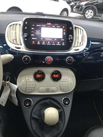 Fiat 500 1.2i Lounge**10000KM'S**LEDER**PANO-DAK**NAVIGATIE 8/15
