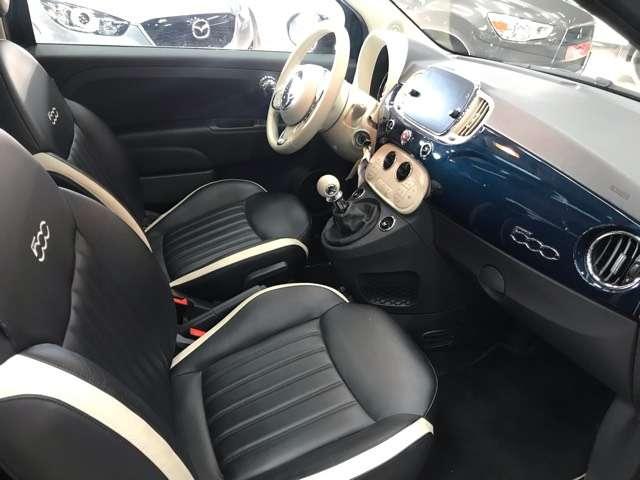 Fiat 500 1.2i Lounge**10000KM'S**LEDER**PANO-DAK**NAVIGATIE 10/15