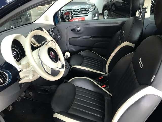 Fiat 500 1.2i Lounge**10000KM'S**LEDER**PANO-DAK**NAVIGATIE 11/15