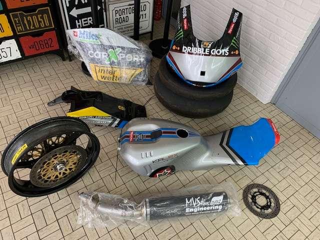 Honda CBR 600 MOTO 2 KALEX-HONDA 2015 Ex Dominique Aegerter 10/15