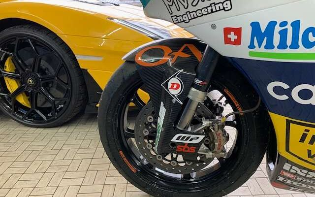 Ducati 1299 Superleggera MOTO 2 KALEX-HONDA  2015 Ex Dominique Aegerter