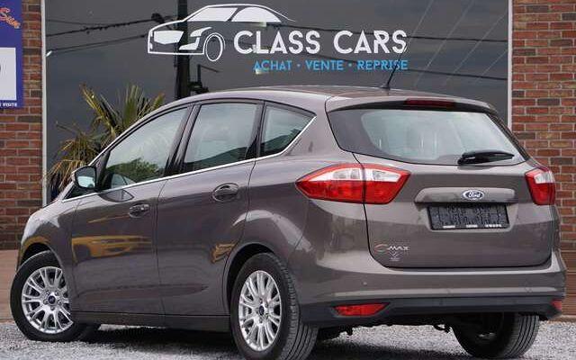 Ford C-MAX 1.6i Titanium / CUIR / RADAR / CRUISE / 1°MAIN