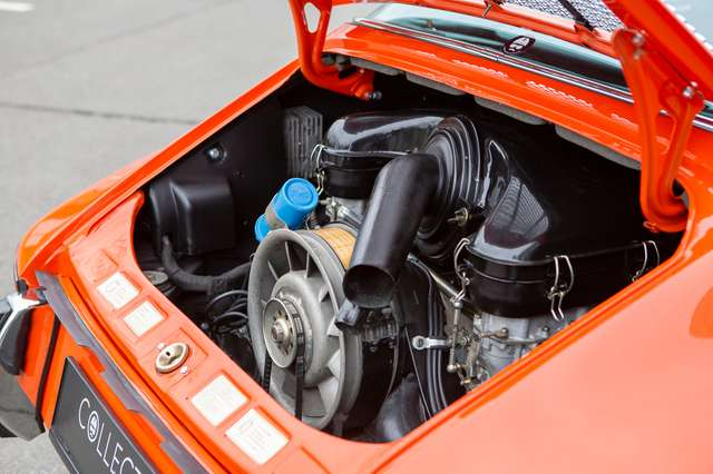 Porsche 911 T Targa - EU car - Nut and bolt restoration 15/15