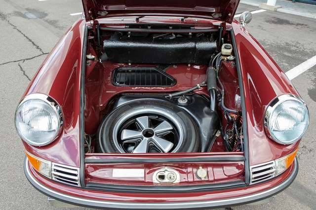 Porsche 911 S Targa - Restored condition - Books/tools! 10/15