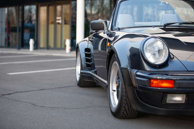 Porsche 930 Turbo Cabrio - EU CAR - 61.500km - FIRST PAINT! 7/15