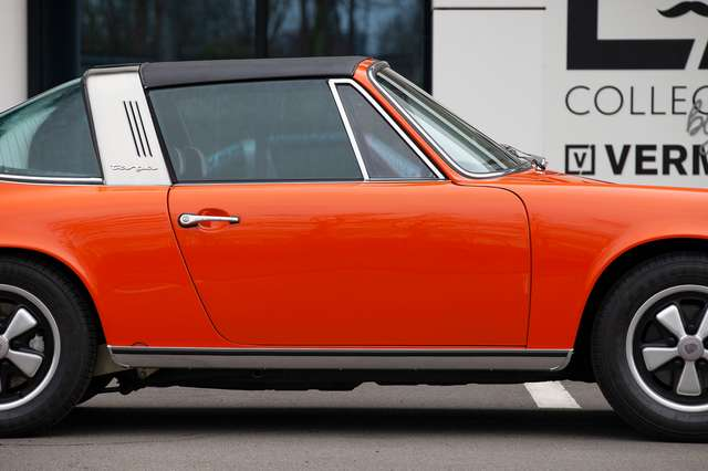 Porsche 911 T - EU car - Matching engine/colours -Nut and bolt 8/15