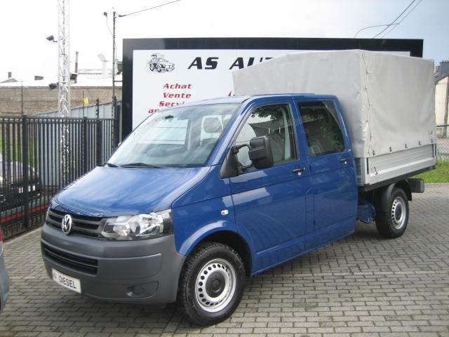 Volkswagen Transporter Double Cabine 6 Pl Pick-Up+Bâche 2.0 TDi 114cv 1/15