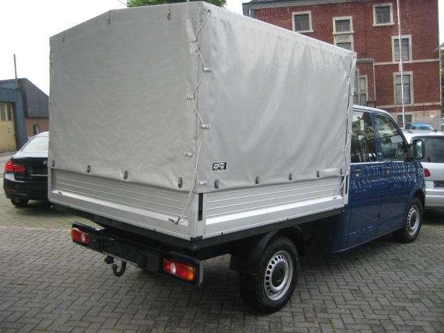 Volkswagen Transporter Double Cabine 6 Pl Pick-Up+Bâche 2.0 TDi 114cv 3/15