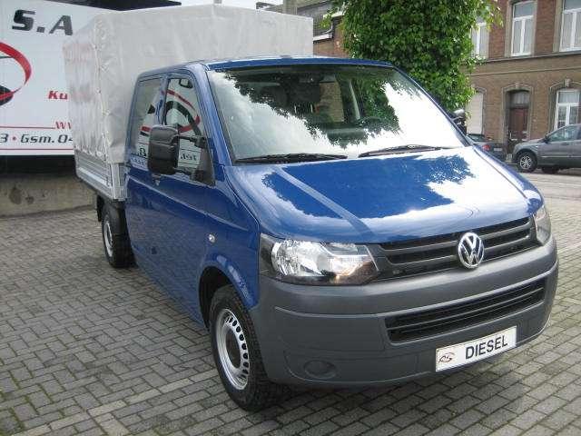 Volkswagen Transporter Double Cabine 6 Pl Pick-Up+Bâche 2.0 TDi 114cv 4/15