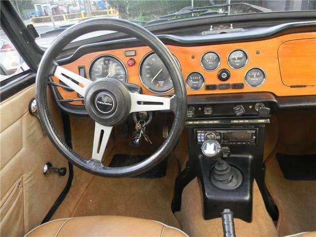 Triumph TR6 OVERDRIVE