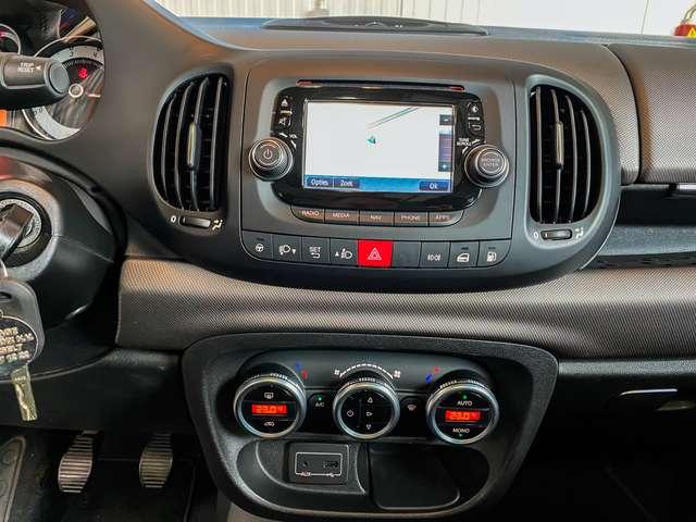 Fiat 500L 0.9 T TwinAir Lounge CNG Open/Pano dak,Navi,Camera 12/15