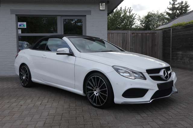 Mercedes E 220 CDI .Aut.AMG PAKKET/xenon/leder/verw zetels/pdc/ 8/15