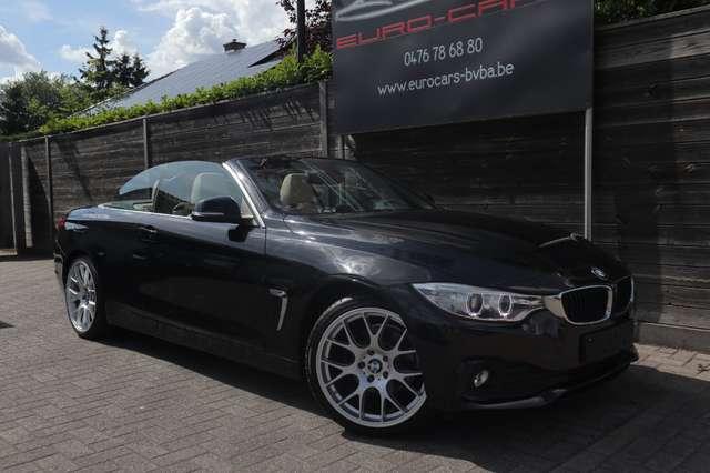 BMW 420 D CABRIO DIESEL / leder/airco/pdc /xenon /pdc 1/15