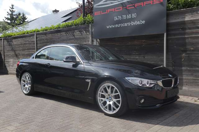 BMW 420 D CABRIO DIESEL / leder/airco/pdc /xenon /pdc 3/15