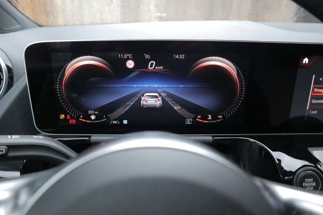 Mercedes B 180 1 ste eig /AMG styling/camera/GPS /leder/nightpack 15/15