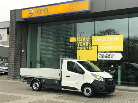 Opel Vivaro Open laadbak 1/7