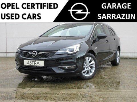 Opel Astra Sports Tourer 1.2 Turbo benz. Elegance :Leder,NaviPro,Led Matrix koplampen,zeer weinig taksen!!! 1/20