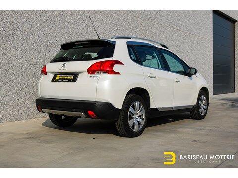 Peugeot 2008 1.2 TURBO BENZINE *GPS*HALF LEDER*AUTO AIRCO*SENSOREN*ALU BI COLOR*