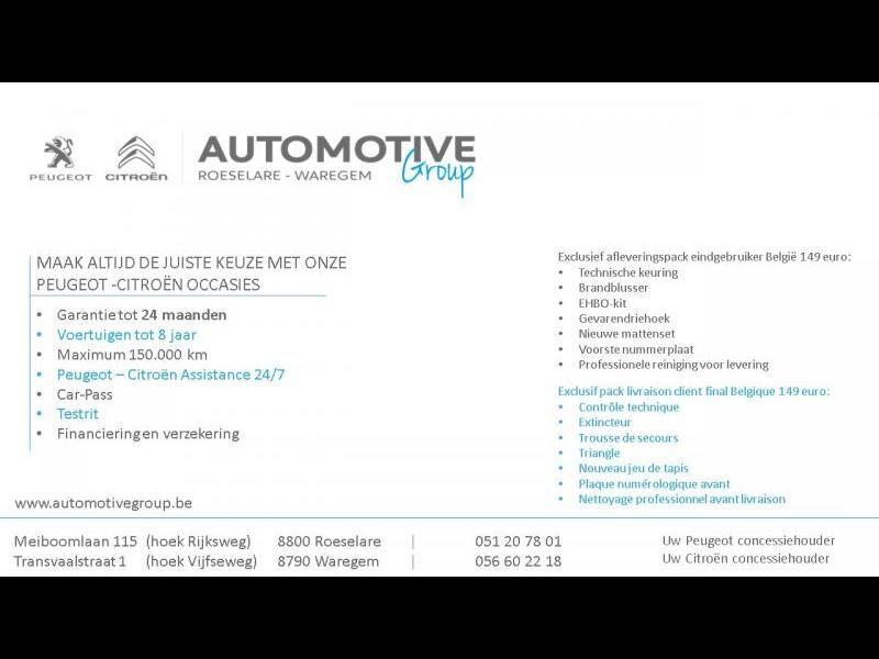 Peugeot Partner Premium 1.2 PureTech 110pk S&S 20/20