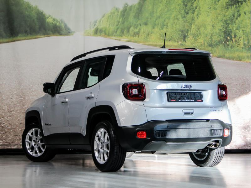 Jeep Renegade Limited 1.0i T3 115pk 1.0i T3 115pk 3/35