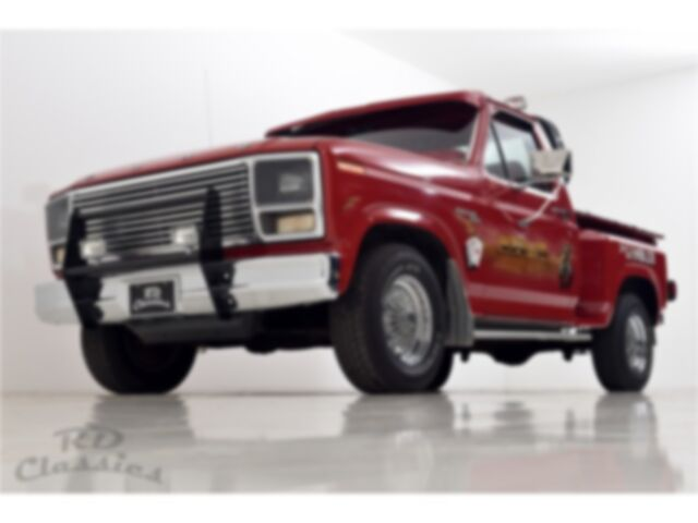 Ford F 100 Pick up Truck Airbrush Special Paint
