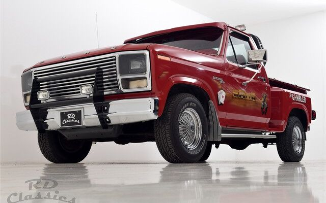Ford f100 Pick up Truck Airbrush Special Paint