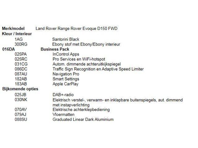 Land Rover Range Rover Evoque D150 FWD 4/5