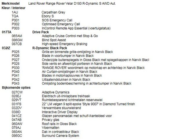 Land Rover Range Rover Velar 2.0D R-Dynamic S AWD Aut. [2020] 9/11